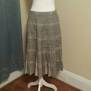 Vintage Pendleton pleated skirt size 12